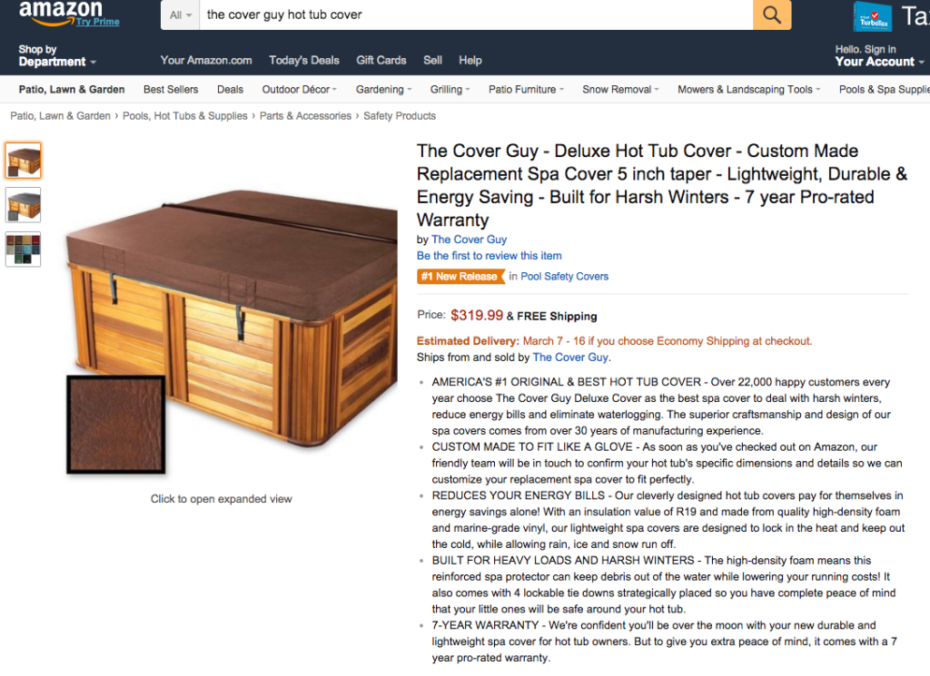 #1 new release product description -Amazon listing service